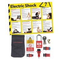 Circuit Breaker & Electric Safety Poster Kit