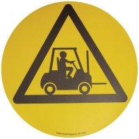 Floor Graphic Markers - Forklift Truck Area symbol