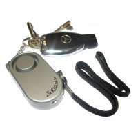 SUREGUARD Mini Keyring Personal Alarm with Torch