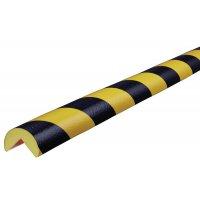 Circular Polyurethane Foam Corner Impact Protectors - Hatched