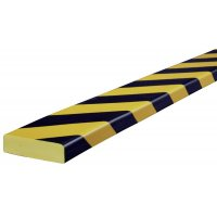 Polyurethane Foam Flat Wall Impact Protectors - Hatched