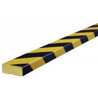 Polyurethane Foam Flat Wall Impact Protectors - Hatched