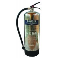 ABC Powder Chrome Effect Fire Extinguishers
