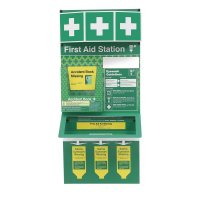 Combined First Aid & Eye Wash Stations - Unstocked