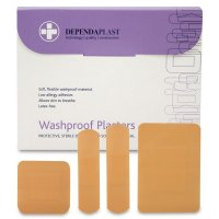Pink Washproof Plasters