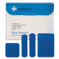 Blue Catering Plasters