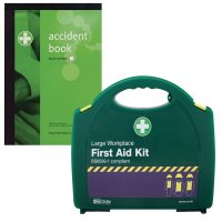 First Aid Equipment and Accident Book Kits