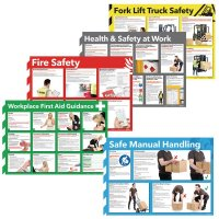 A2 Health and Safety Poster Multipacks