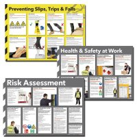 Health and Safety/Risk Prevention Poster Multipack