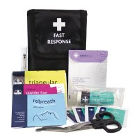 Fast Response First Aid Kit in Belt Wallet