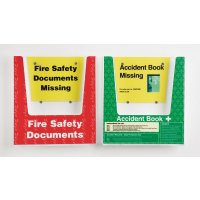 Accident Book & Fire Safety Document Holder Multipacks