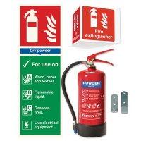 ABC Powder Fire Extinguisher Kits