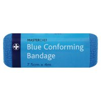 Conforming Blue Bandages