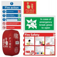 Manual Call Point Alarm & Signage Bundle Kits
