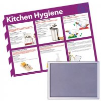 Snap Frame & Hygiene Poster Bundle Kits