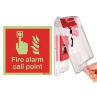 Alarmed Call Point Cover and Sign Kits
