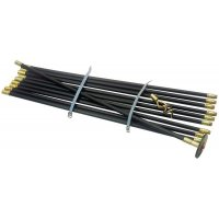 12-Piece Drain Rod Set