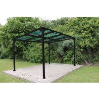 Bedford Cycle Shelter - Extension Bays