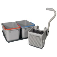 Mop Press & Twin Bucket Mopping Kit