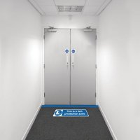 Safety Zone Floor Marking Kits - Foot Protection