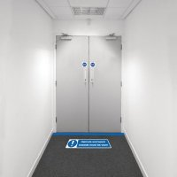 Safety Zoning Floor Marking Kits - Haircoverings