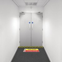 Safety Zoning Floor Marking Kits - Flammable