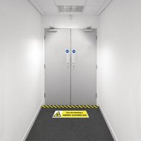 Safety Zoning Floor Marking Kits - Entering Radiation