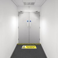 Safety Zoning Floor Marking Kits - Hazardous Area