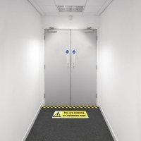 Safety Zoning Floor Marking Kits - Entering Asbestos