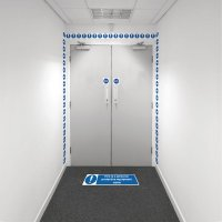 Safety Zoning Wall Marking Kits - PPE Zone