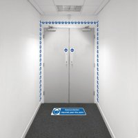 Safety Zoning Wall Marking Kits - Head Protection