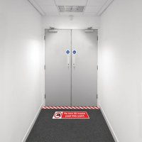 Safety Zoning Floor Marking Kits - No Fork Lifts
