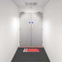 Safety Zoning Floor Marking Kits - No Access Unless..