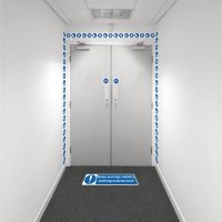 Safety Zoning Wall Marking Kits - Boots & Hi Vis