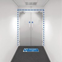 Safety Zoning Wall Marking Kits - PPE Required
