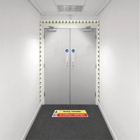 Safety Zoning Wall Marking Kits - Flammable