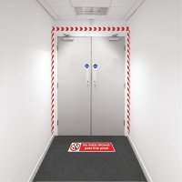 Safety Zoning Wall Marking Kits - No Metal