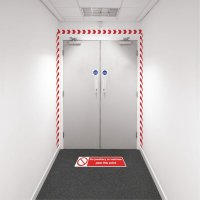Safety Zoning Wall Marking Kits - No Jewellery