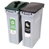 Rubbermaid® Slim Jim Recycling Stream Starter Packs