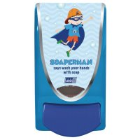 Deb Soaperman Childrens Soap Dispenser