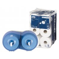 Tork® Smart One Mini Rolls & FREE Dispenser