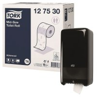Tork® Midsize Toilet Tissue & FREE Dispenser