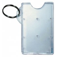 Economy Badge Holder & Keyring