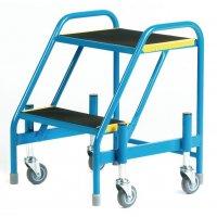 Tubular Steel Mobile Steps