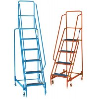 Tubular Steel Mobile Steps