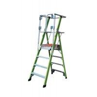 Little Giant Hi-Viz Safety Cage Stepladder
