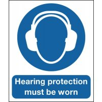 Deluxe Hearing Protection Must Be Worn Signs