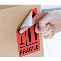 Fragile (↑↑) - International Shipping Labels
