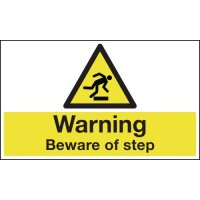 Anti-Slip Floor Signs - Warning Beware Of Step