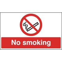 No Smoking - Anti-Slip Floor Signs